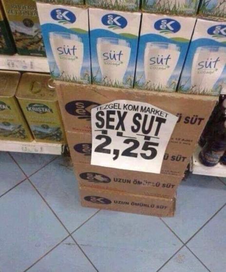 sex süt